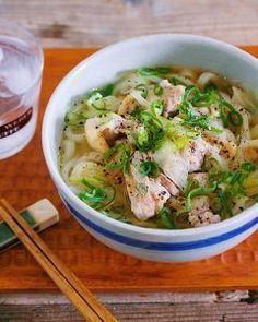 ゴマ油香る♡『鶏ネギうま塩うどん』 by Yuu*(大田優) | レシピサイト「Nadia | ナディア」プロの料理を無料で検索