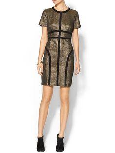 Pim + Larkin Womens Metallic Dress Size 0 - Gold by: Pim + Larkin @Piperlime