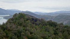 Sierra de Morillo. Al fondo, el Castillo de Samitier y Coscojuela de Sobrarbe