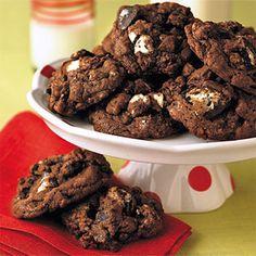 Chunky Chocolate Gobs | MyRecipes.com