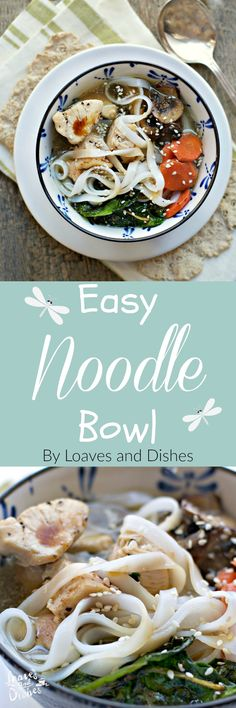 Need a super simple recipe that uses things in your fridge already? Healthy even? Follow these simple instructions for an easy Noodle Bowl made from the few things you have in your fridge