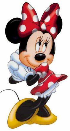 Minnie Mouse - Thinking of Mickey Wallpaper Mickey Minnie Mouse, Mickey Mouse E Amigos, Minnie Mouse Clipart, Minnie Mouse Pictures, Disney Clipart, Mickey Mouse And Friends, Walt Disney, Disney Mickey, Disney Art