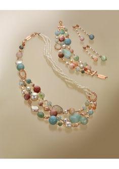 Bead Jewellery, Pearl Jewelry, Beaded Jewelry, Jewelery, Jewelry Necklaces, Beaded Necklace, Beaded Bracelets, Jewelry Gifts, Handmade Jewelry