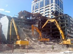Car park demolition (2011)