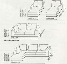 Lean Sofa and Sectional by Camerich