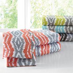 Amazon.com - Brylanehome 300-Tc Ikat Stripe Sheet Set -