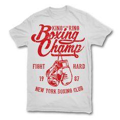 Boxing Champ T-shirt design