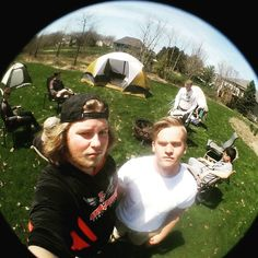 spencer_peterson17854. Gotta get me one of these #fisheye #tentcity #pals Click like or share.
