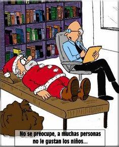 Santa Claus y su psicologo