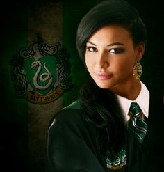 Slytherin Santana by selinaann