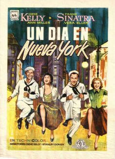 Spanish poster for 'New York, New York' (1949) ...