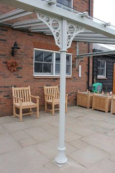 Specialists in the manufacture and installation of bespoke high quality traditional style glass verandas. Garage Pergola, Pergola Garden, Outdoor Pergola, Pergola Plans, Backyard Patio, Pergola Ideas, Pergola Designs, Patio Design, Garden Design