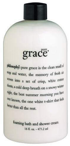 Philosophy Pure Grace Foaming Bath and Shower « Holiday Adds