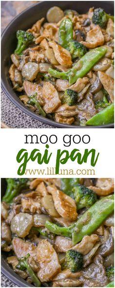 Delicious Moo Goo Ga...