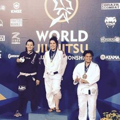Congrats to Kayla Dehm on her Bronze Medal in the white belt division at the 2015 World's. #JiuJitsu #ibjjf #2015Worlds