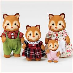 calico critter family