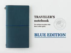 トラベラーズノート 限定ブルーエディション TRAVELER'S notebook BLUE Limited Edition