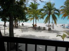 Nirvana on the Beach - view upper veranda