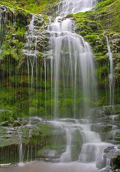 Reconnect with nature.  Photo of Scaleber Force by Chris Joint - Scotland