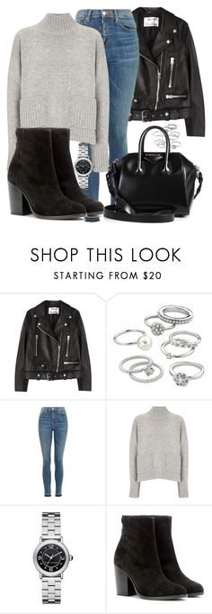 """Sem título #4808"" by beatrizvilar on Polyvore featuring moda, Acne Studios, Candie's, Topshop, Frame, Marc Jacobs, rag & bone e Givenchy"