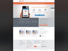 Kinvey website re-design