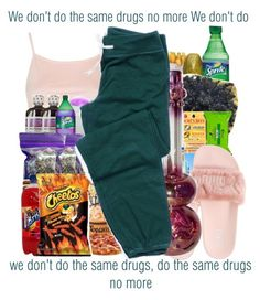 Same Drugs x Chance the Rapper by juicyums on Polyvore featuring polyvore fashion style Topshop Puma clothing