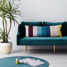 Estella Chainstitch Cushion | Long
