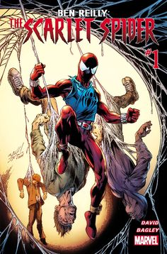 COMICS: Marvel Changes Ben Reilly's SCARLET SPIDER Costume For The Better