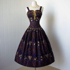 vintage 1940s dress fabulous GEORGIANA