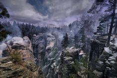Skyrim in real life - Prachov Rocks, Czech Republic