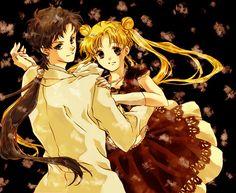 Seiya and Usagi - Sailor Moon Sailor Stars Fan Art (21066322) - Fanpop