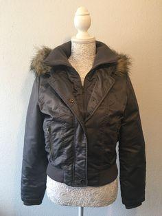 Veste Naf Naf Product Page, Leather Jacket, Jackets, Fashion, Boutique Online Shopping, Studded Leather Jacket, Down Jackets, Moda, Leather Jackets