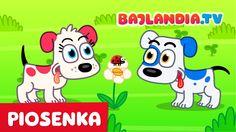 Piosenki dla dzieci - pieski małe dwa - bajlandia.tv