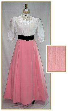 Textured Pink Stripe Skirt, Style #C0190-STSP