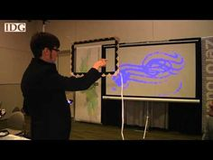 CHI2011: Student project creates multi-touch force field