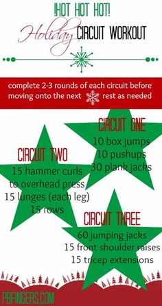 Holiday Circuit Workout
