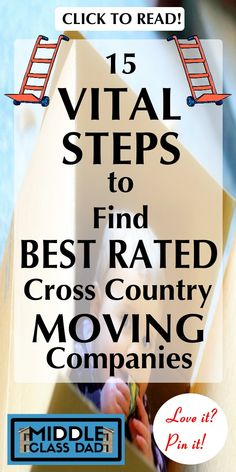 Finding the best rated cross country moving companies is a headache! There are a lot of scammers & terrible movers out there. Even some of the big names can provide a nightmare experience & make or break your next move. Compare companies & reviews using my proven tips. But following #10 will literally save your . . . #movingcompanies #BestMovingAdvice #BestMoving #BestMovers #movingtips #BestMovingCompany #BestMovingCompanies