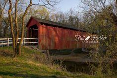 Full Feather Photography: Sandy Creek Covered Bridge - Historic Site near Hillsboro, Missouri (c) Full Feather Photography