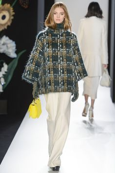 Mulberry have kept it chic, with soft creams, forest green, navy and checks. Fabulous.