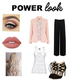 """""""Power look"""" by algomez0208 on Polyvore featuring Lime Crime, Alexander McQueen and Cosabella"""