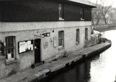 "Caption: ""Paddington Toll Office on the Grand Union Canal"" London Pictures, Rivers, Antique Furniture, Caption, Old Photos, Venice, Past, Urban, Life"