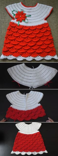 Today we are going to learn to crochet a beautiful baby dress. Even though the season might not be the most appropriate for these kinds of crochet items, since it is a bit cold outside – we believe that there is still plenty of room for you to try your yarn on dress projects like… Read More Crochet a Beautiful Baby Dress