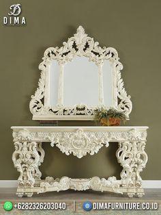 Home Decor Furniture, Rococo, Bed Design, Bedroom Decor, Ivory, Mirror, Table, Beautiful, Cat