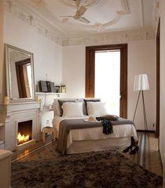 Piso en el Eixample de Barcelona. 2013: Dormitorios de estilo ecléctico de Deu i Deu