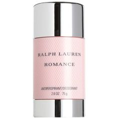 Ralph Lauren Romance for Women Deodorant - 2.6 oz (£18) ❤ liked on Polyvore featuring beauty products, bath & body products, deodorant, no color and ralph lauren