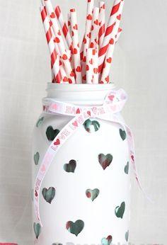 10 Mason Jar Ideas for Valentine's Day   DIY Your Way