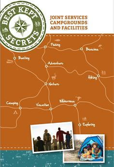 """JOINT SERVICES CAMPGROUNDS AND FACILITIES (free pdf) ~ Looking for a family adventure in the great outdoors? These """"best kept secrets"""" might just offer you exactly what you need. www.operationwearehere.com/spaceatravel.html"""