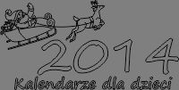 Kalendarze 2014 dla dzieci do wydrukowania