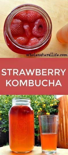 Kombucha flavors | Kombucha second ferment | Homemade kombucha recipe | DIY kombucha