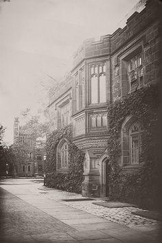 Black and White photography, Princeton University, vintage reproduction, architecture, historic architecture, sepia art, ivy league, college...
